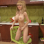 This sexy blonde futa babe is the total package!