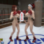 Sexy futa girls enjoy sucking and fucking in the ring!