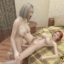 Two wild and sexy chicks with dicks try out their new bed with lots of sex!