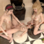 Three hot futa girls have an intense bathroom sex orgy!