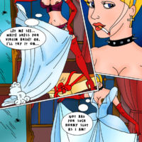 Cinderella and all the girls have a wild orgy