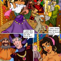 Esmeralda fucks the Hunchback and his gargoyles