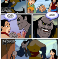 Mulan becomes the sex slave to the barbaric bandits. Part II.