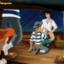 Ariel spies on a hot sailor gay orgy!