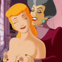 Cinderella seduced by her horny step mom