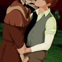 Rasputin gives Dmitry a dirty ass licking!
