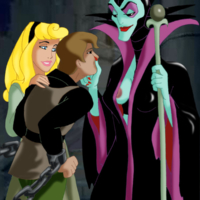 The valiant prince gets tortured by evil witch and Aurora