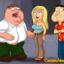 Peter and Quagmire gangbang hot blonde Gillian