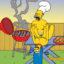 Homer has a wild sexual barbeque