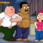 Peter and Cleveland having a bisexual threesome with Meg