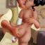 Tiana takes a joy ride on Naveen's ebony cock. Part II.