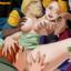 Frolo, Captain Fuebus, Quasimodo and Sarush bang a hot busty blonde!