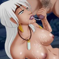 Kida loves sucking a big hard cock!