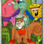 Sponge Bob and friends fuck a squirrel chick