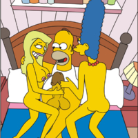 More family porn fun from the Simpsons