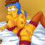 Marge enjoys sex with her many Springfield lovers!