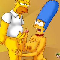 Sexy Marge and Springfield babes getting naughty!